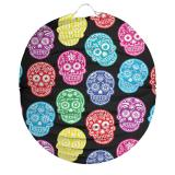 """Runde Laterne """"Day of the Dead"""" 22 cm"""