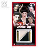 """Schminkset """"Black and White"""" 4-tlg."""