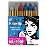 """Schminkstifte """"Glitter"""" 6-tlg."""