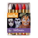 """Schminkstifte """"Halloween"""" 6-tlg."""