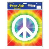 "Selbstklebende Wanddeko ""Batik und Peace"" 29,5 cm"