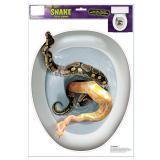 """Selbstklebende WC-Dekofolie """"Schlangen"""""""