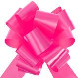 Selbstraffende Schleifen 5 cm 10er Pack-pink