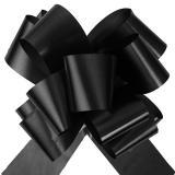 Selbstraffende Schleifen 5 cm 10er Pack-schwarz