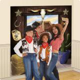 "Selfie-Hintergrund ""Howdy Cowboys"" 2-tlg."