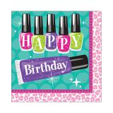"Servietten ""Beauty Accessoires"" Happy Birthday 16er Pack"