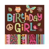 """Servietten """"Birthday Girl"""" 16er Pack"""