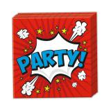 "Servietten ""Boom-Party"" 20er Pack"
