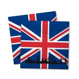 """Servietten """"England - London"""" 20er Pack"""
