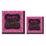 """Servietten """"Fabulous Birthday"""" 16er Pack"""