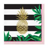 "Servietten ""Goldene Ananas"" 16er Pack"