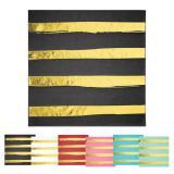 """Servietten """"Goldene Streifen"""" 16er Pack"""