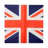 "Servietten ""Union Jack"" 20er Pack"