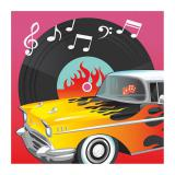"Servietten ""Rockin the 50s"" 16er Pack"