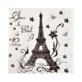 """Servietten """"La Tour Eiffel"""" 20er Pack"""