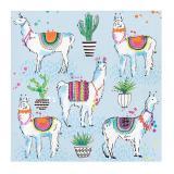 """Servietten """"Lama Fiesta"""" 16er Pack"""