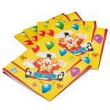 "Servietten ""Lustiger Clown"" 20er Pack"