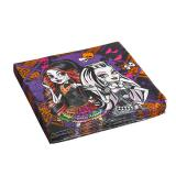 "Servietten ""Monster High Gruselspaß"" 20er Pack"