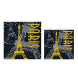 "Servietten ""Paris bei Nacht"" 16er Pack"