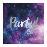 Servietten Party Galaxie 20er Pack