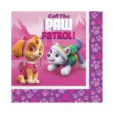 "Servietten ""Paw Patrol for Girls"" 20er Pack"