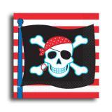 """Servietten """"Piraten-Party"""" 16er Pack"""