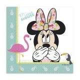 """Servietten """"Sommerliche Minnie Mouse"""" 20er Pack"""
