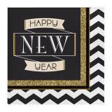 """Servietten """"Sparkling New Year"""" 16er Pack"""