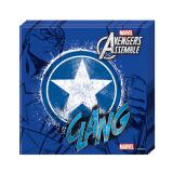 "Servietten ""Ultimative Avengers - Captain America"" 20er Pack"