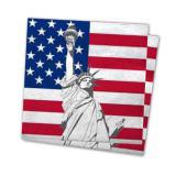"""Servietten """"USA"""" 20er Pack"""