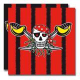 "Servietten ""Wilde Piraten"" 20er Pack"