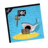 """Servietten """"Aufregende Piratenreise"""" 20er Pack"""