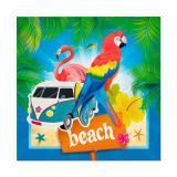 "Servietten ""Beach-Party"" 20er Pack"