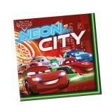 "Servietten ""Cars Neon City"" 20er Pack"