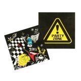 """Servietten """"Party-Zone"""" 12er Pack"""