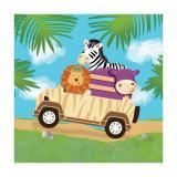 """Servietten """"Safari Tour"""" 16er Pack"""