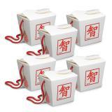 """Snack-Boxen """"Chinesische Zeichen"""" 6er Pack"""