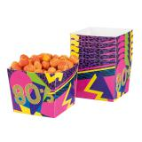 "Snack-Boxen ""Wilde 80er Party"" 6er Pack"