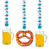 """Spiral-Deckenhänger """"Oktoberfest"""" 3er Pack"""