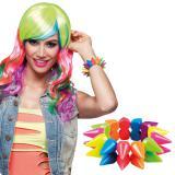 "Stachel-Armband ""Neon-Punk"""