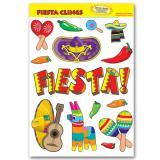 """Statisch haftende Aufkleber """"Fiesta"""" 14-tlg."""