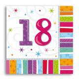 """Servietten 18 """"Strahlender Geburtstag"""" 16er Pack"""