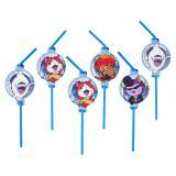 """Strohhalme """"Yo-Kai Watch"""" 8er Pack"""