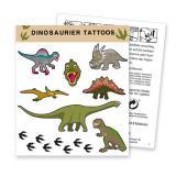 "Tattoo ""Dinosaurierleben"" 8-tlg."