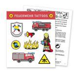 """Tattoo """"Spannende Feuerwehr"""" 8-tlg."""