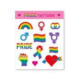 Tattoos Gay Pride 12-tlg.