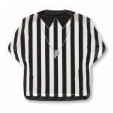 "Teller ""Referee Shirt"" aus Kunststoff 31,5 x 29 cm"