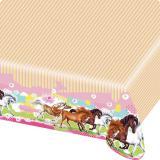 "Tischdecke ""Charming Horses"" 180 x 120 cm"