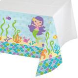 """Tischdecke """"Kleine Meerjungfrau und Freunde"""" 137 cm x 259 cm"""
