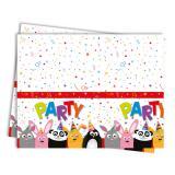 """Tischdecke """"Tierischer Partyspaß"""" 120 x 180 cm"""